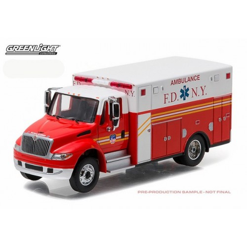 Heavy Duty Series 7 - International DuraStar Ambulance FDNY