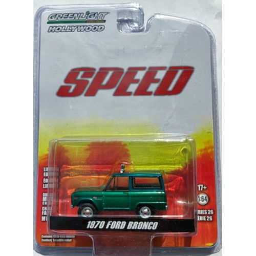 Greenlight Hollywood Series 26 - 1970 Ford Bronco GREEN MACHINE