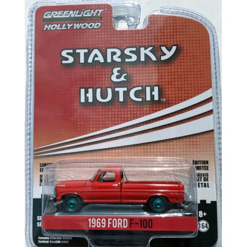 Greenlight Hollywood Series 27 - 1969 Ford F-100 GREEN MACHINE