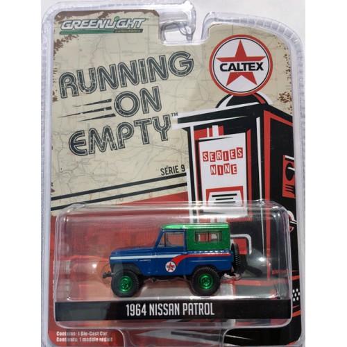 Greenlight Running on Empty Series 9 - 1964 Nissan Patrol GREEN MACHINE