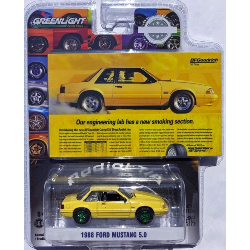 Greenlight Hobby Exclusive - 1988 Ford Mustang 5.0 GREEN MACHINE