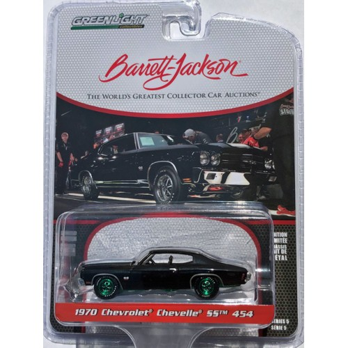 Greenlight Barrett-Jackson Series 5 - 1970 Chevrolet Chevelle SS 454 GREEN MACHINE