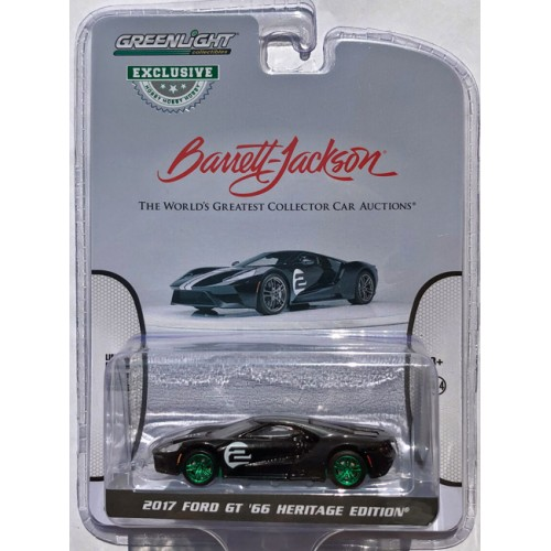 Greenlight Hobby Exclusive - 2017 Ford GT GREEN MACHINE