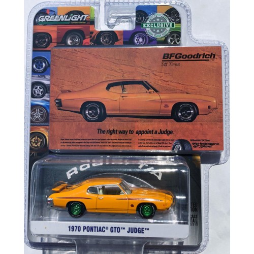 Greenlight Hobby Exclusive - 1970 Pontiac GTO Judge GREEN MACHINE