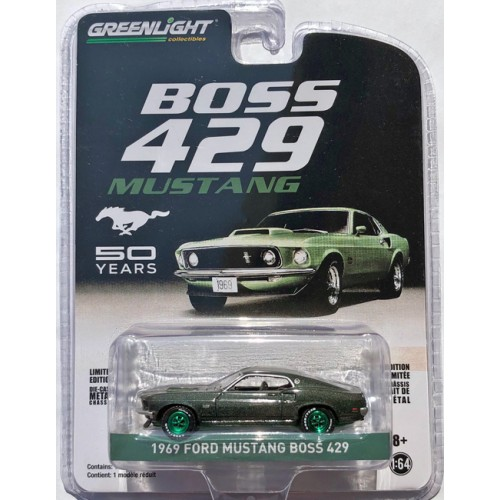 Greenlight Anniversary Collection Series 9 - 1969 Ford Mustang Boss 429 GREEN MACHINE