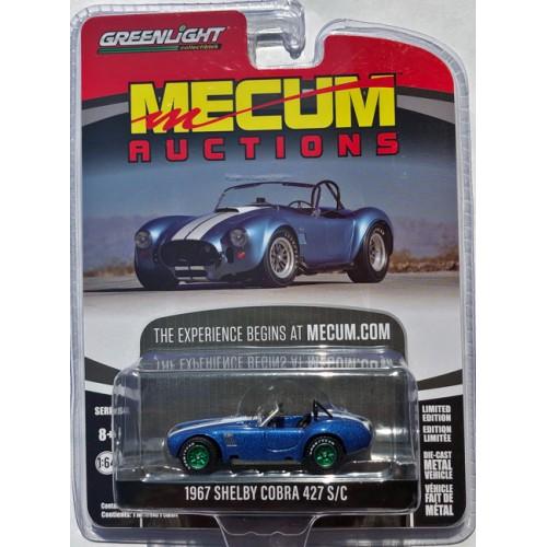 Greenlight Mecum Auctions Series 4 - 1967 Shelby Cobra 427 S/C GREEN MACHINE