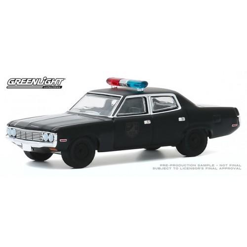 Greenlight Black Bandit Series 23 - 1972 AMC Matador Police Car