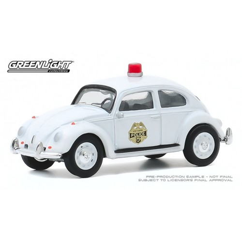 Greenlight Club Vee-Dub Series 11 - 1964 Volkswagen Beetle Police Car