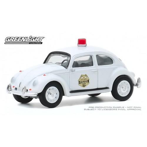 Greenlight Club Vee-Dub Series 11 - 1964 Volkswagen Beetle Police Car