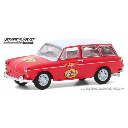 Greenlight Club Vee-Dub Series 11 - 1965 Volkswagen Type 3 Squareback
