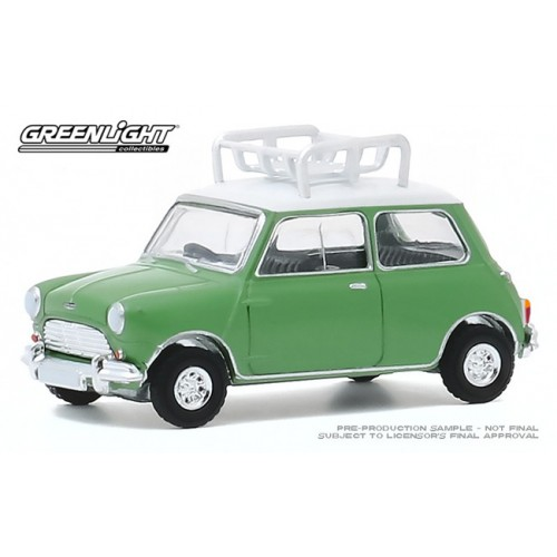 Greenlight Hot Hatches Series 1 - 1965 Austin Mini Cooper S with Roof Rack