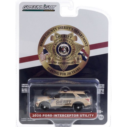 Greenlight Anniversary Collection Series 11 - 2020 Ford Police Interceptor Utility
