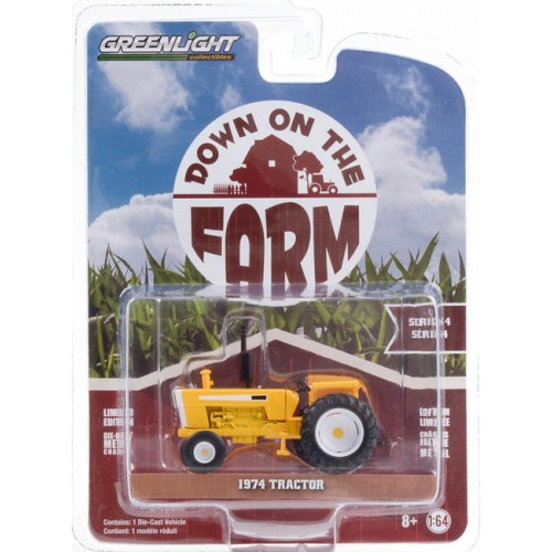 Greenlight Down on the Farm Series 4 - 1974 Tractor with Open Cab