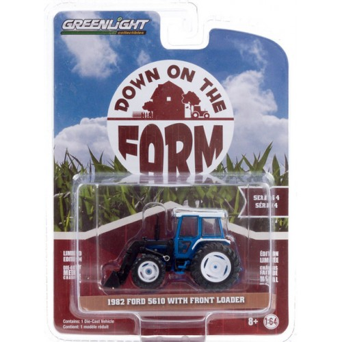 Greenlight Down on the Farm Series 4 - 1982 Ford 5610 Tractor with Front Loader