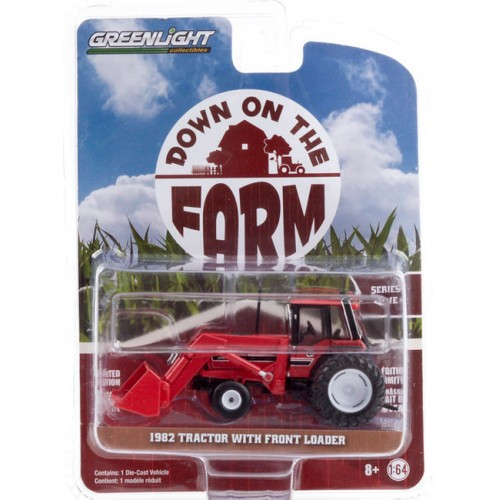Greenlight Down on the Farm Series 4 - 1982 Tractor with Front Loader