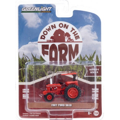 Greenlight Down on the Farm Series 4 - 1987 Ford 5610 Tractor Kansas DOT