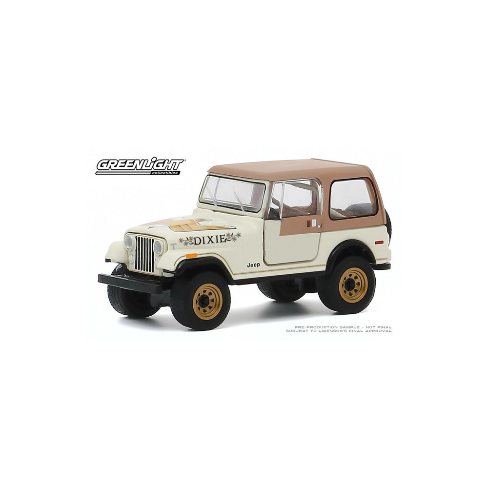 Greenlight Hobby Exclusive - 1979 Jeep CJ-7 Golden Eagle Dixie
