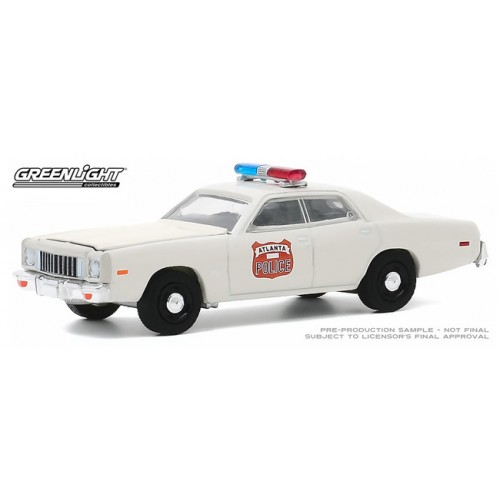 Greenlight Hobby Exclusive - 1975 Plymouth Fury Police Car