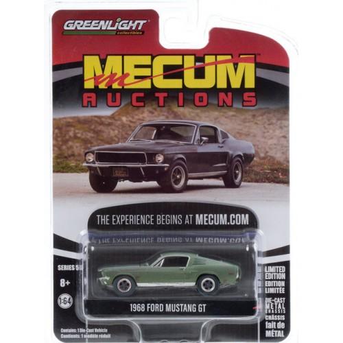 Greenlight Mecum Auctions Series 5 - 1968 Ford Mustang GT Bullitt