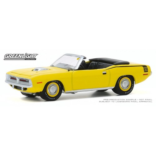 Greenlight Mecum Auctions Series 5 - 1970 Plymouth HEMI Cuda Convertible