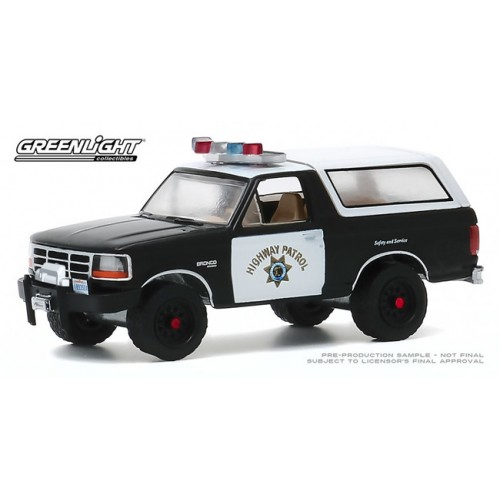 Greenlight Hot Pursuit Series 35 - 1995 Ford Bronco CHP