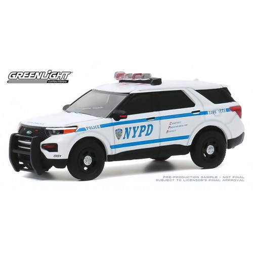Greenlight Hot Pursuit Series 35 - 2020 Ford Police Interceptor Utility NYPD