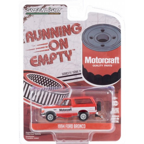 Greenlight Running on Empty Series 11 - 1994 Ford Bronco