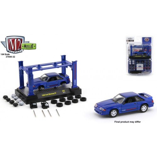 M2 Machines Model-Kits Release 32 - 1988 Ford Mustang GT