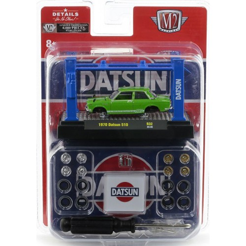 M2 Machines Model-Kits Release 32 - 1970 Datsun 510