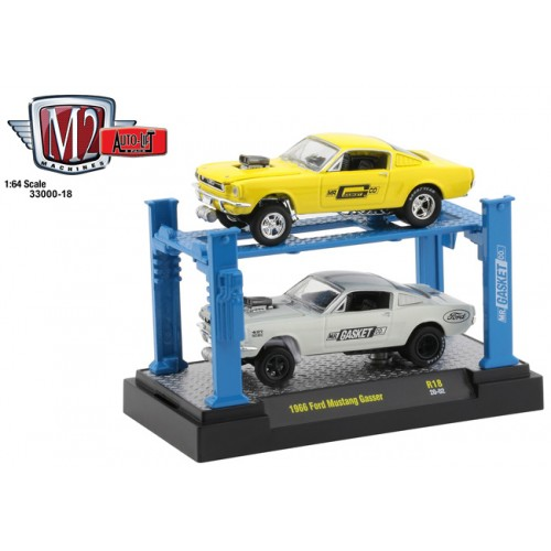 M2 Auto-Lift Release 18 - 1966 Ford Mustang Gasser Set