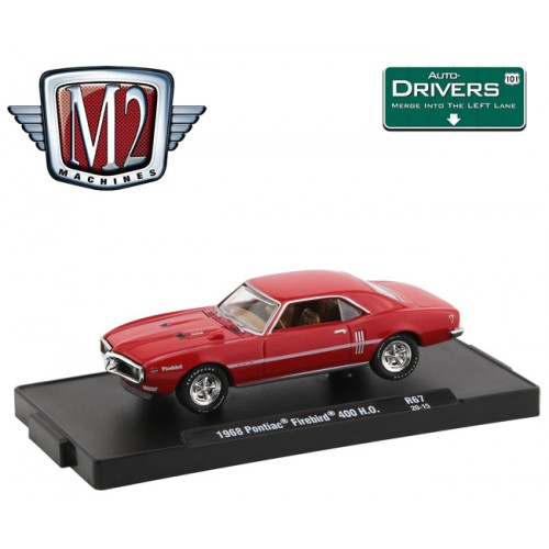 M2 Machines Drivers Release 67 - 1969 Pontiac Firebird 400 H.O.