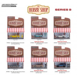 Greenlight The Hobby Shop Series 9 - Six Car Set