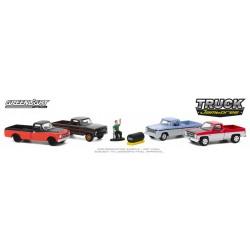 Greenlight Four Car Diorama - Truck Jamboree