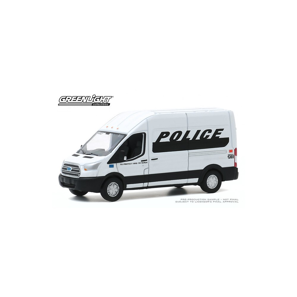 Greenlight Route Runners Series 1 - 2019 Ford Transit LWB High Roof