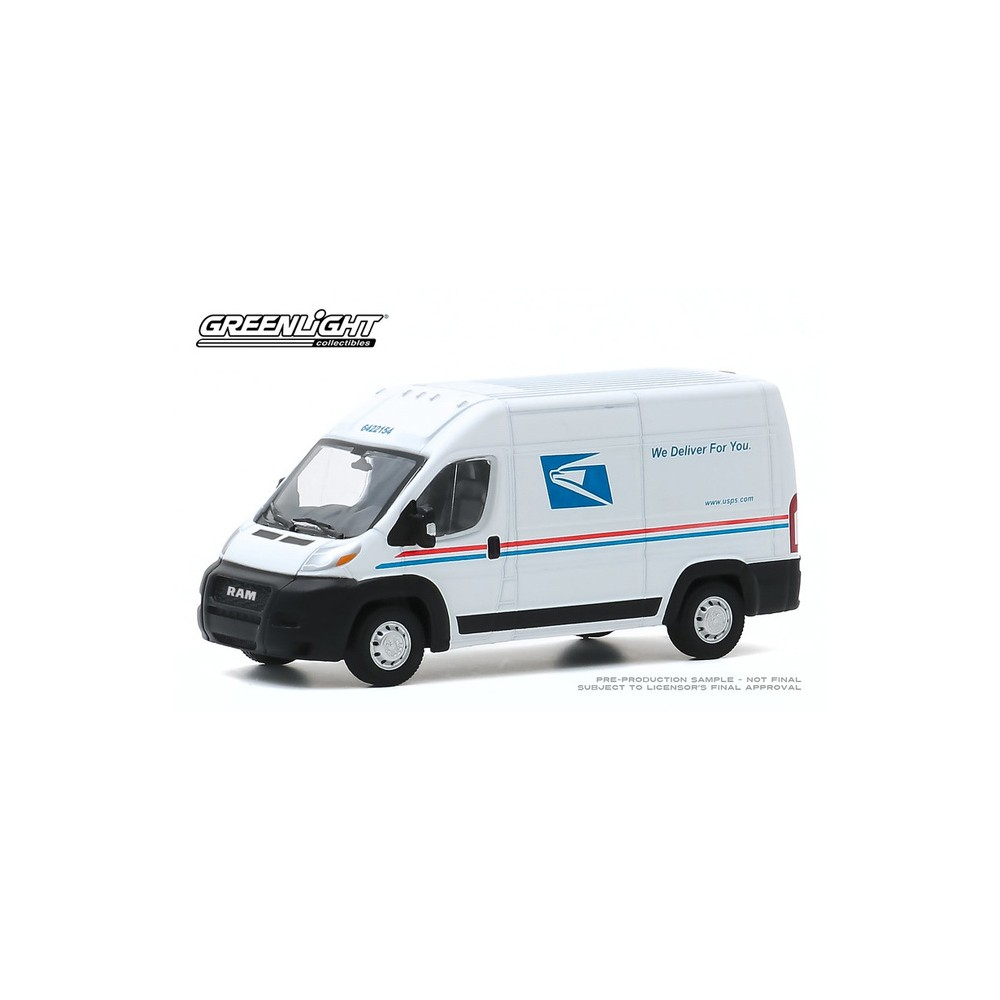 Greenlight Route Runners Series 1 - 2019 RAM ProMaster 2500 Cargo High Roof
