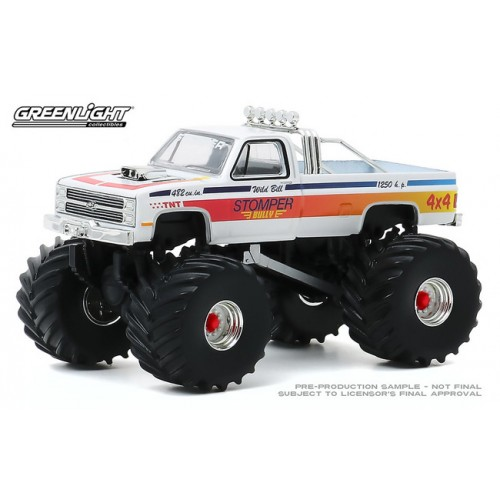 Greenlight Kings of Crunch Series 7 - 1984 Chevy C-20 Monster Truck Stomper Bully