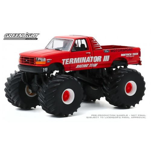 Greenlight Kings of Crunch Series 7 - 1993 Ford F-250 Monster Truck Terminator III