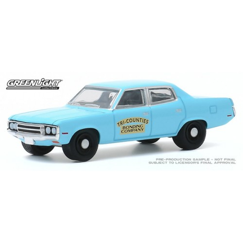 Greenlight Hobby Exclusive - 1971 AMC Matador Tri-Counties Bonding Company