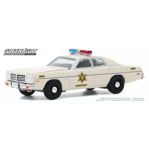 Greenlight Hobby Exclusive - 1975 Dodge Coronet Hazzard County Sheriff