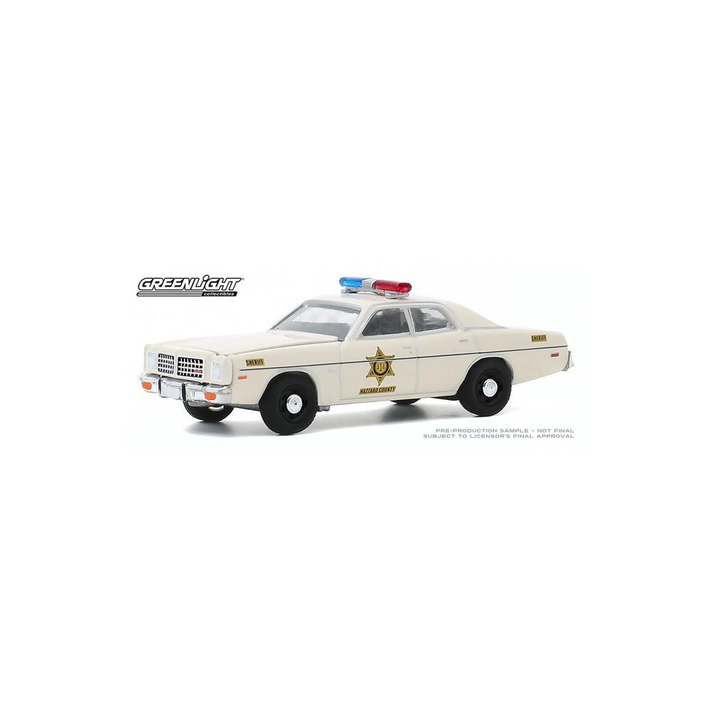 Greenlight Hobby Exclusive - 1975 Dodge Coronet Hazzard County Sheriff