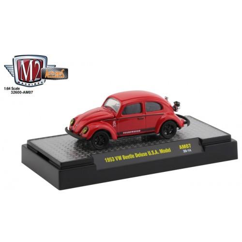 M2 Machines Auto-Mods Release 7 - 1953 Volkswagen Beetle Deluxe