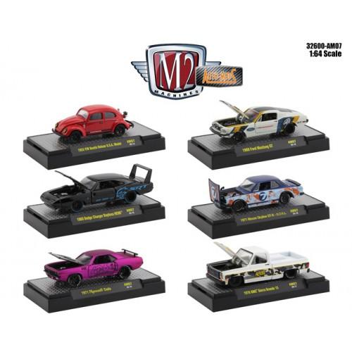 M2 Machines Auto-Mods Release 7 - Six Car Set