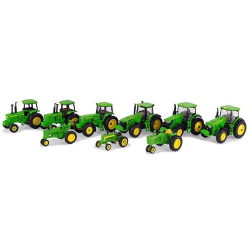 ERTL 75th Anniversary - John Deere 9 Piece Tractor Set