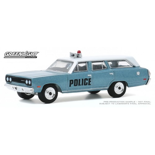 Greenlight Estate Wagons Series 5 - 1970 Plymouth Belvedere Emergency Wagon