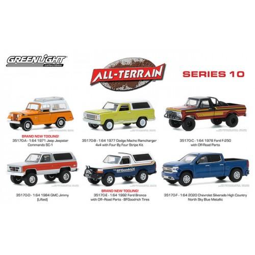 Greenlight All-Terrain Series 10 - Six Truck Set