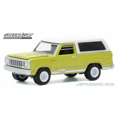 Greenlight All-Terrain Series 10 - 1977 Dodge Macho Ramcharger 4x4