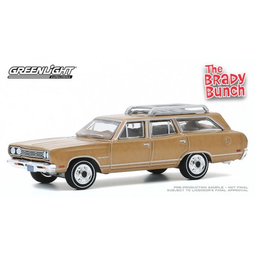 Greenlight Hollywood Series 29 - 1969 Plymouth Satellite Station Wagon