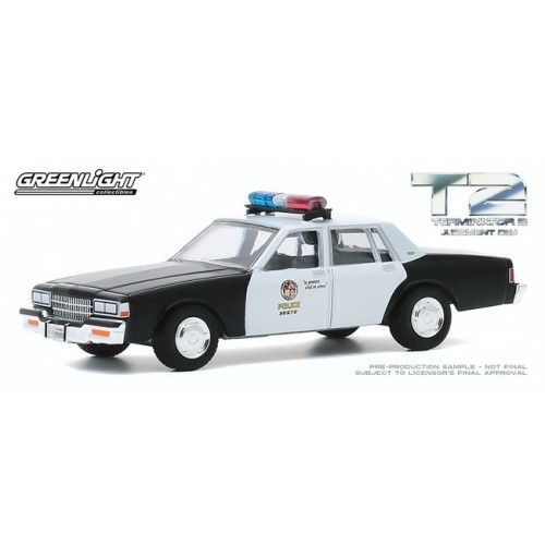 Greenlight Hollywood Series 29 - 1987 Chevrolet Caprice Police Car