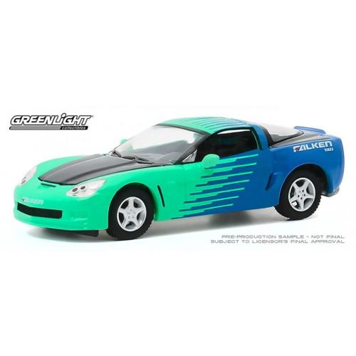 Greenlight Hobby Exclusive - 2013 Chevrolet Corvette C6 Falken Tires