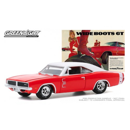 Greenlight Hobby Exclusive - 1969 Dodge Charger